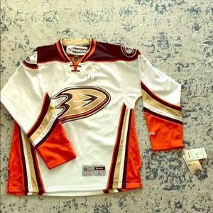 Autographed Anaheim Ducks Jersey